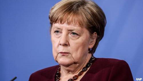 Merkel wil lockdown voortzetten in april