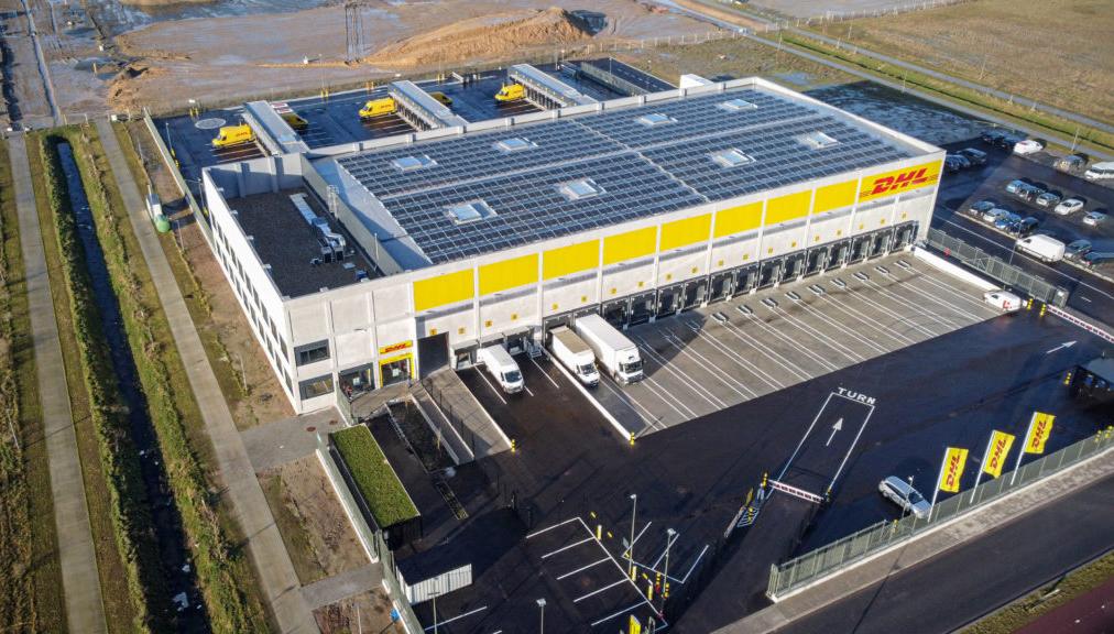 DHL Express opent nieuwe CityHub op Blue Gate Antwerp