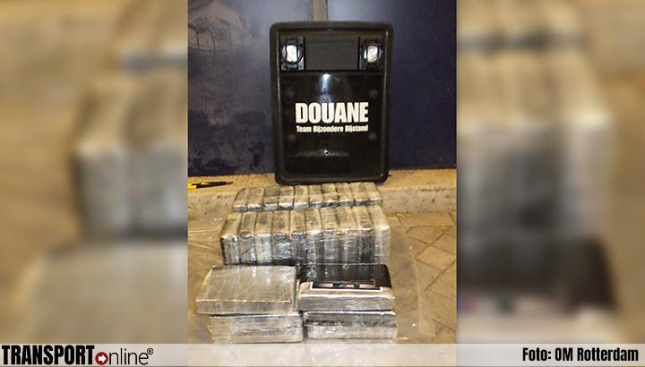 Douane onderschept 26 kilo cocaïne: drie aanhoudingen