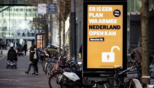 Herstel-NL voert opnieuw campagne tegen lockdown