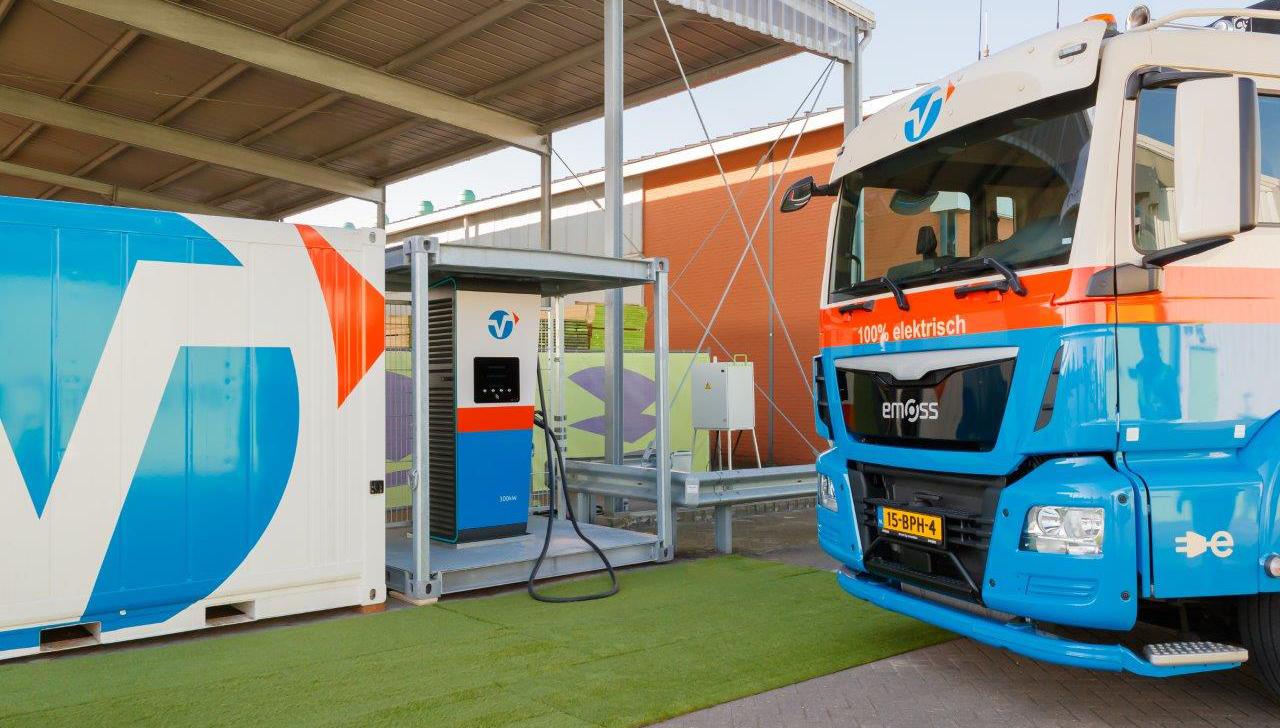 MDB B.V. zet samen met Vlot Logistics stappen naar een emissievrije bouwplaats