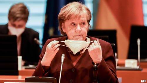 Bondskanselier Merkel verwacht nog zware maanden