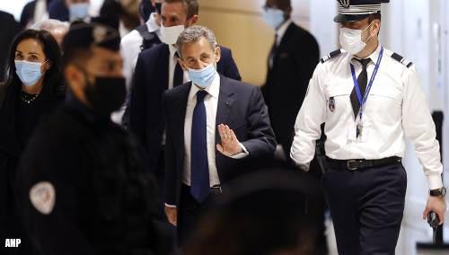 Ex-president Sarkozy tot celstraf veroordeeld wegens corruptie