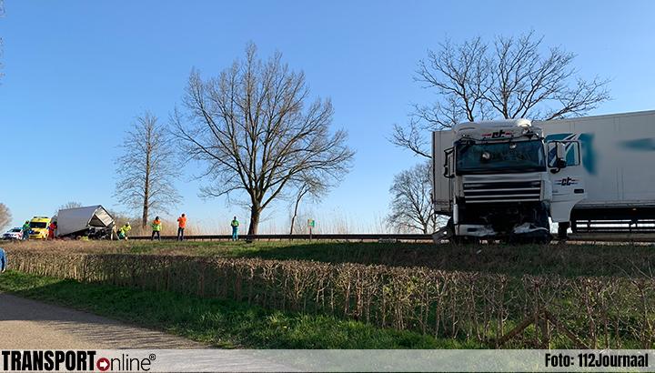 Ernstig ongeval met meerdere voertuigen op N279 [+foto]