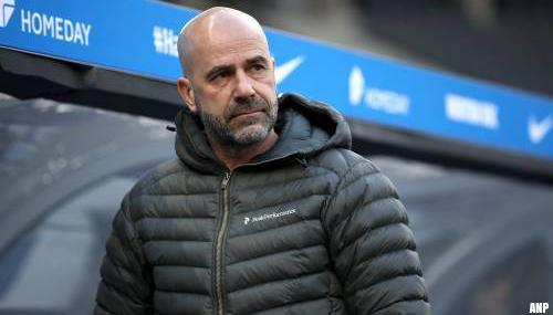 Trainer Peter Bosz ontslagen bij Bayer Leverkusen