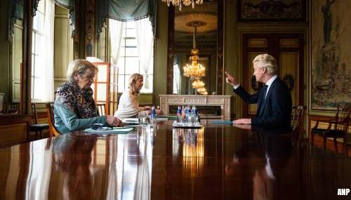 Wilders wil 'centrumrechts' met VVD, CDA, PVV, Forum, JA21