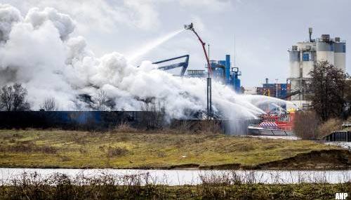 Brand bij schrootverwerker Den Bosch, rook in wijde omgeving te zien