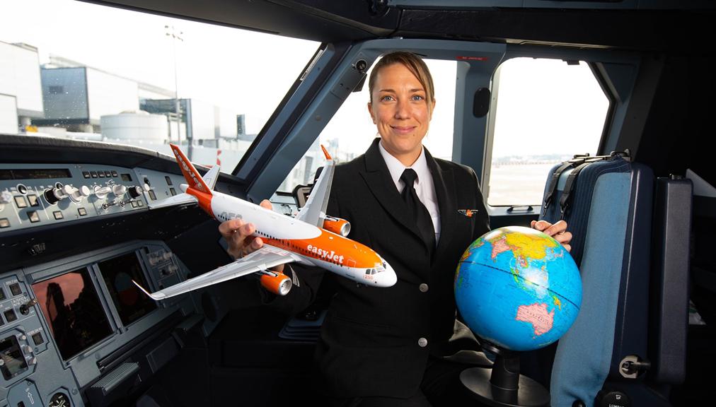 easyJet start op Internationale Vrouwendag een Europees programma voor virtuele schoolbezoeken met piloten om de genderstereotypering van carrières tegen te gaan