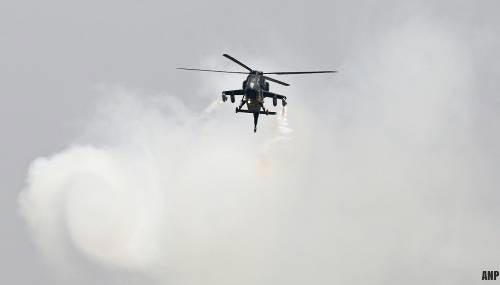 Zeker elf militairen dood door crash Turkse helikopter