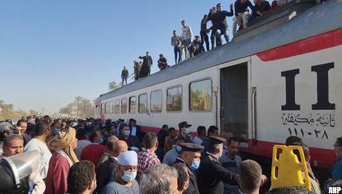 Dodental treinongeluk Egypte flink naar beneden bijgesteld