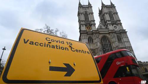 Britse regering wil vanaf september derde prik toedienen