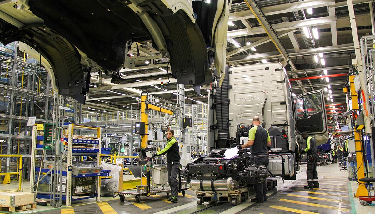 Serieproductie van nieuwe Volvo Trucks-range gestart