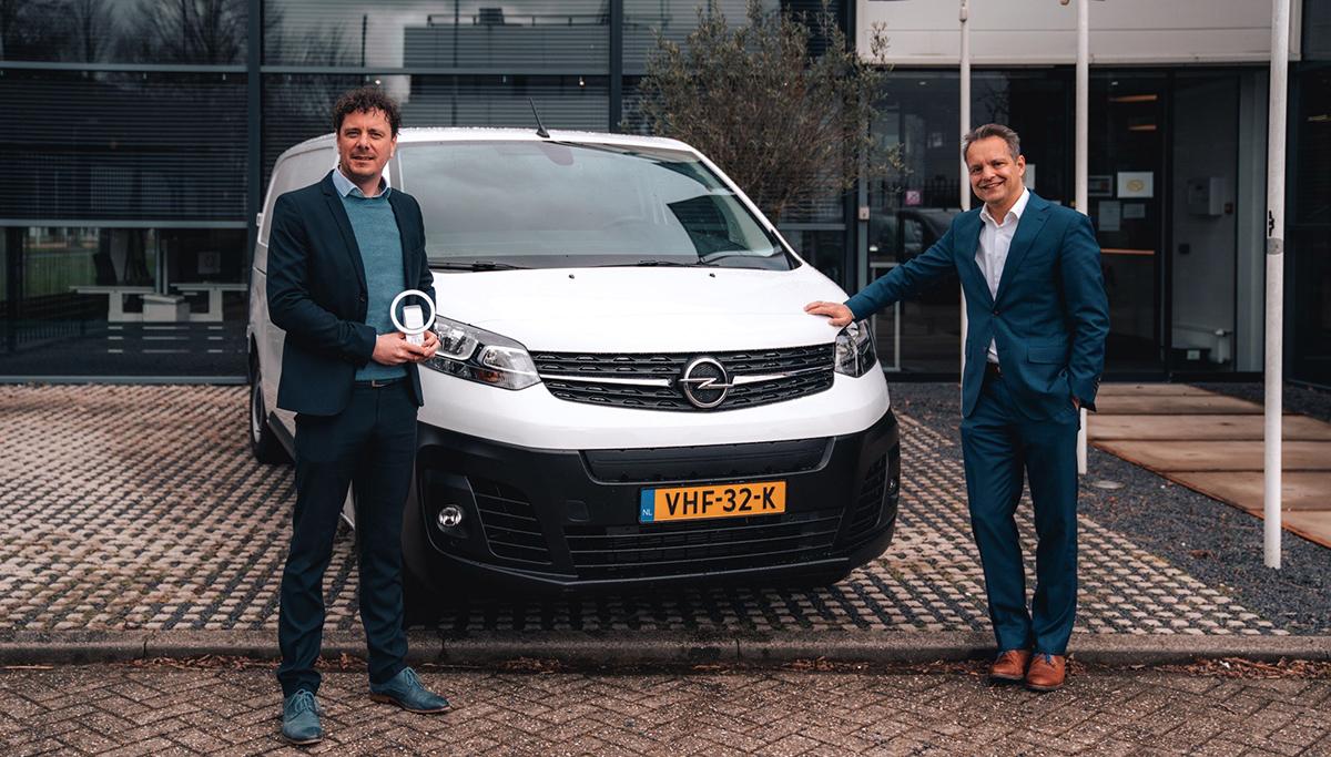 International Van of the Year-award voor nieuwe Opel Vivaro-e