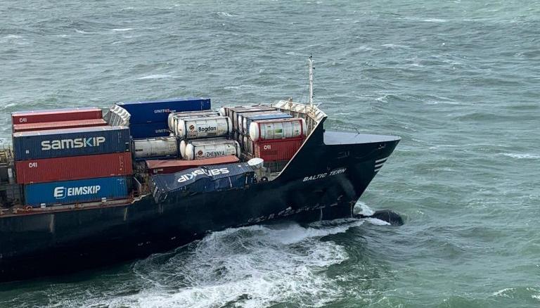 Ook laatste twee verloren containers 'Baltic Tern' gevonden