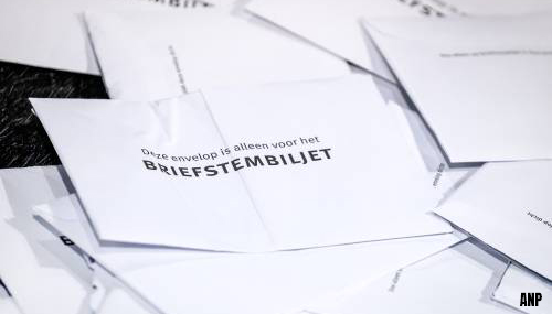 ANBO vindt het onacceptabel dat 65.000 briefstemmen niet zijn meegeteld bij de verkiezingen