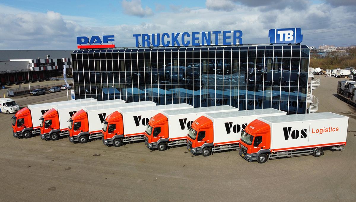 Vos Logistics kiest voor DAF LF voor 'Home Deliveries'