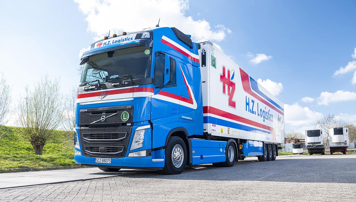 Dertig Volvo FH LNG-trucks voor H.Z. Logistics
