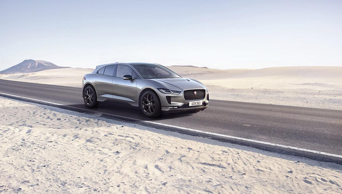 De nieuwe Jaguar I-PACE BLACK