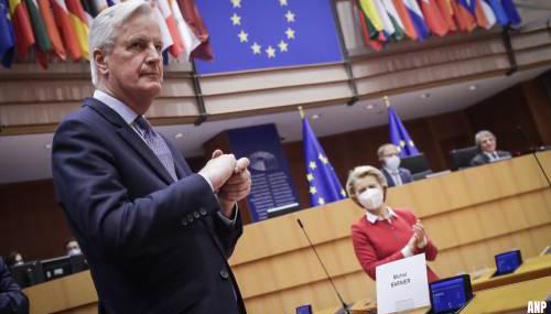Barnier: brexit is een falen van EU waarvan geleerd moet worden