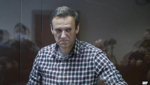 Aleksej Navalni stopt na ruim drie weken met hongerstaking