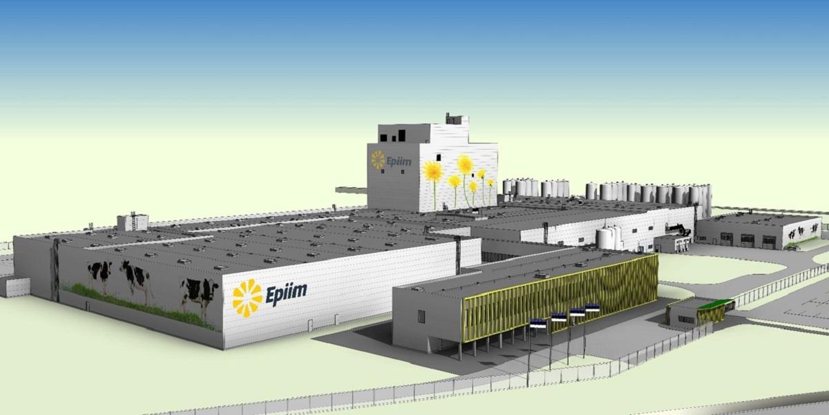 SCE E-Piim, Royal A-Ware en Interfood Group bouwen hypermoderne zuivelfabriek in Estland