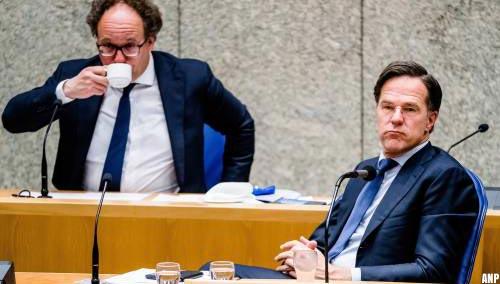 Rutte: niet trots op wat ik teruglees in notulen ministerraad