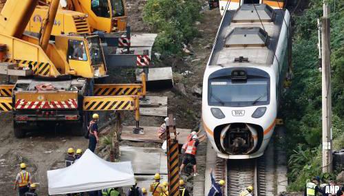 Zeker drie buitenlanders onder doden treinramp Taiwan