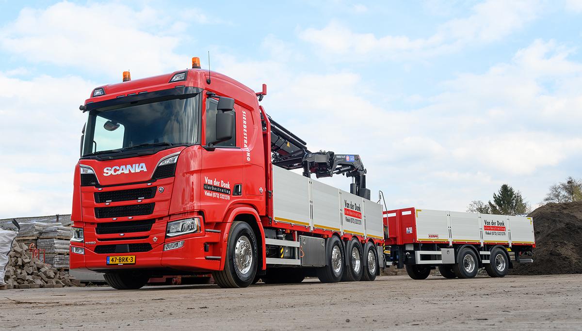 Van der Donk kiest wederom voor een Scania V8 580