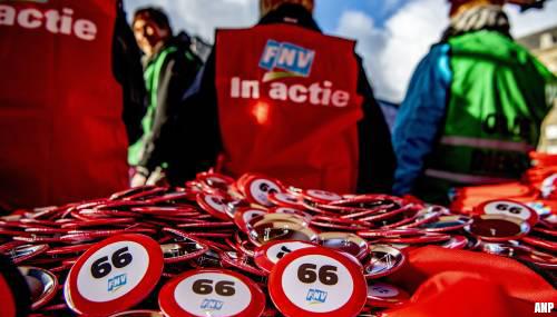 FNV boos dat kabinet afstapt van vroeg pensioen voor zwaar beroep