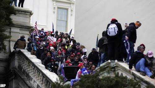 'Forse kritiek op politie VS in rapport over bestorming Capitool'