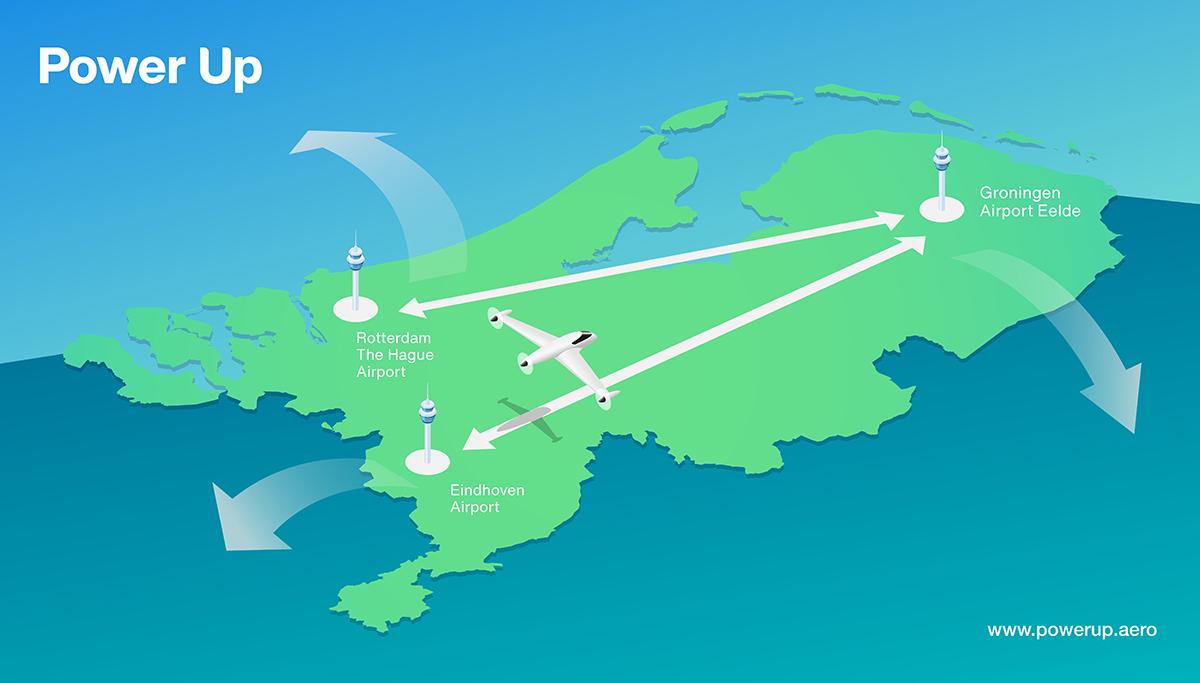 Luchthavens in Nederland gaan starten met elektrisch vliegen