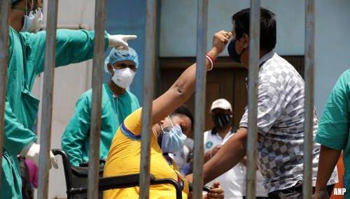 Voor vijfde dag op rij recordaantal coronabesmettingen in India