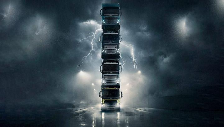 Hoofdrolspelers uit Volvo Trucks-viral 'The Tower' nu bij dealers