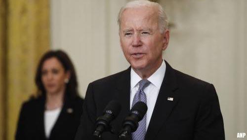 'President Biden stelt besluit over zwarte lijst China uit'