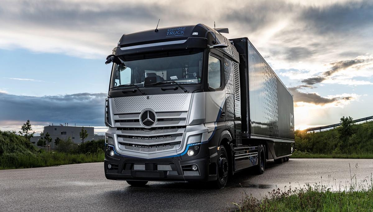 Daimler Trucks start uitgebreide tests met brandstofceltruck