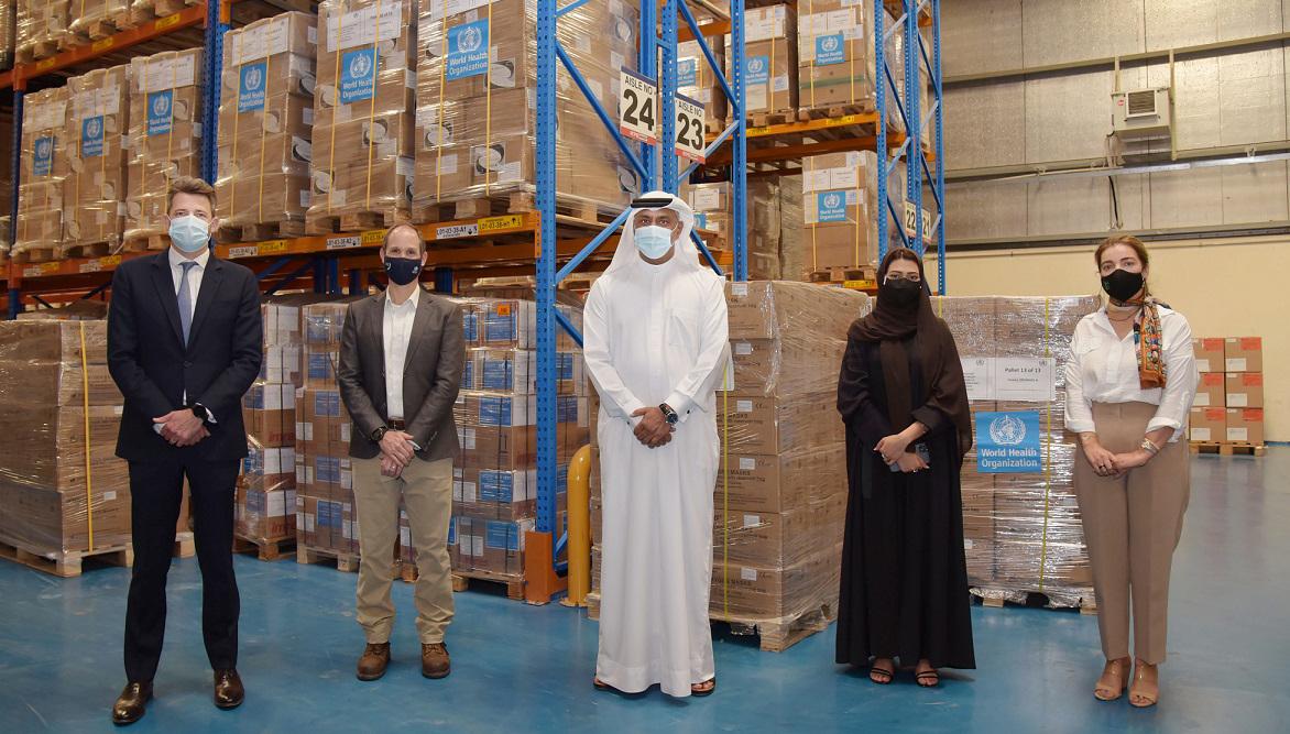 Emirates lanceert humanitaire luchtbrug naar India voor het vervoeren van urgente Covid-19 hulpgoederen