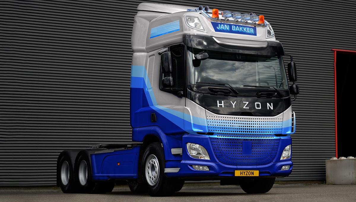 Jan Bakker Transport innoveert met aanschaf tien waterstofvrachtwagens