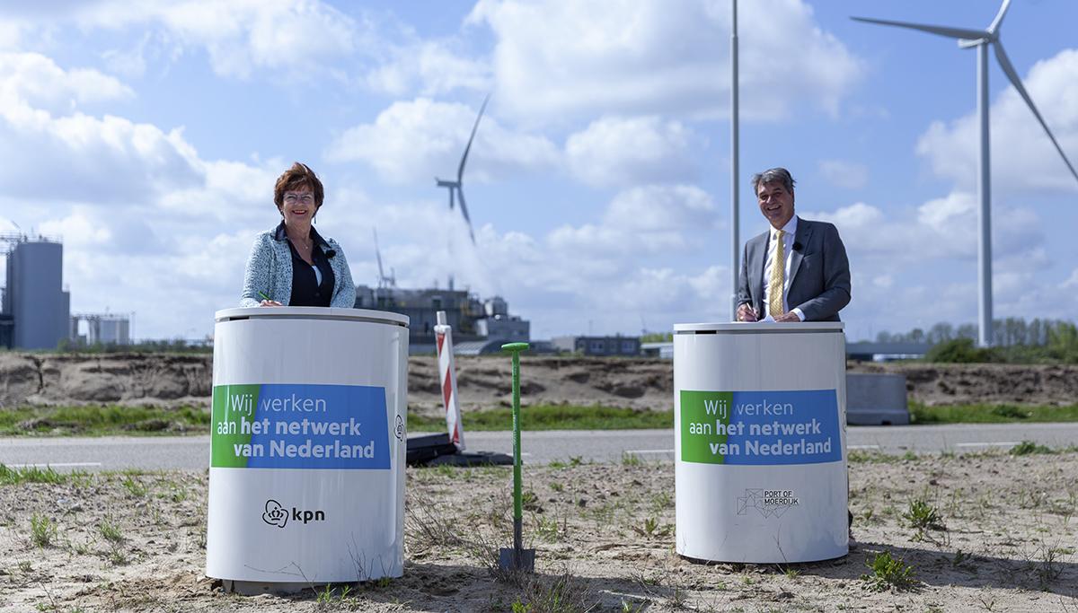 Port of Moerdijk bouwt samen met KPN aan de haven van de toekomst