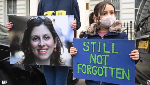 VK spreekt berichten over vrijlating Zaghari-Ratcliffe tegen