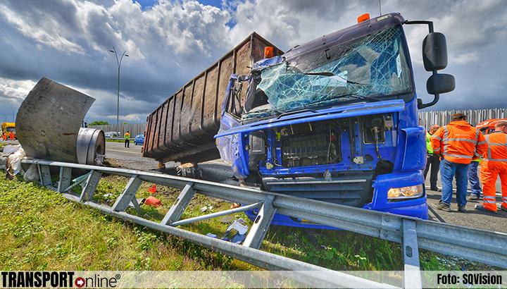 Ernstig ongeval op A2 met vrachtwagen [+foto]
