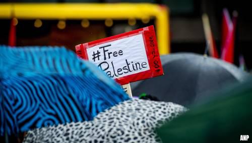 Pro-Palestijnse betogers in Europese steden de straat op