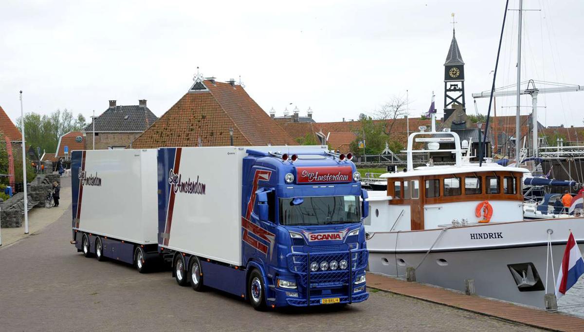 Scania 650S voor Siep Amsterdam