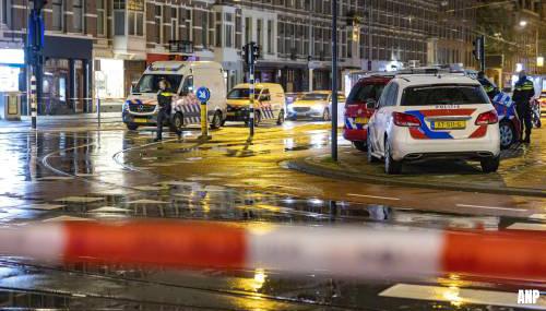 Omgeving steekpartij Amsterdam weer vrijgegeven na politieonderzoek