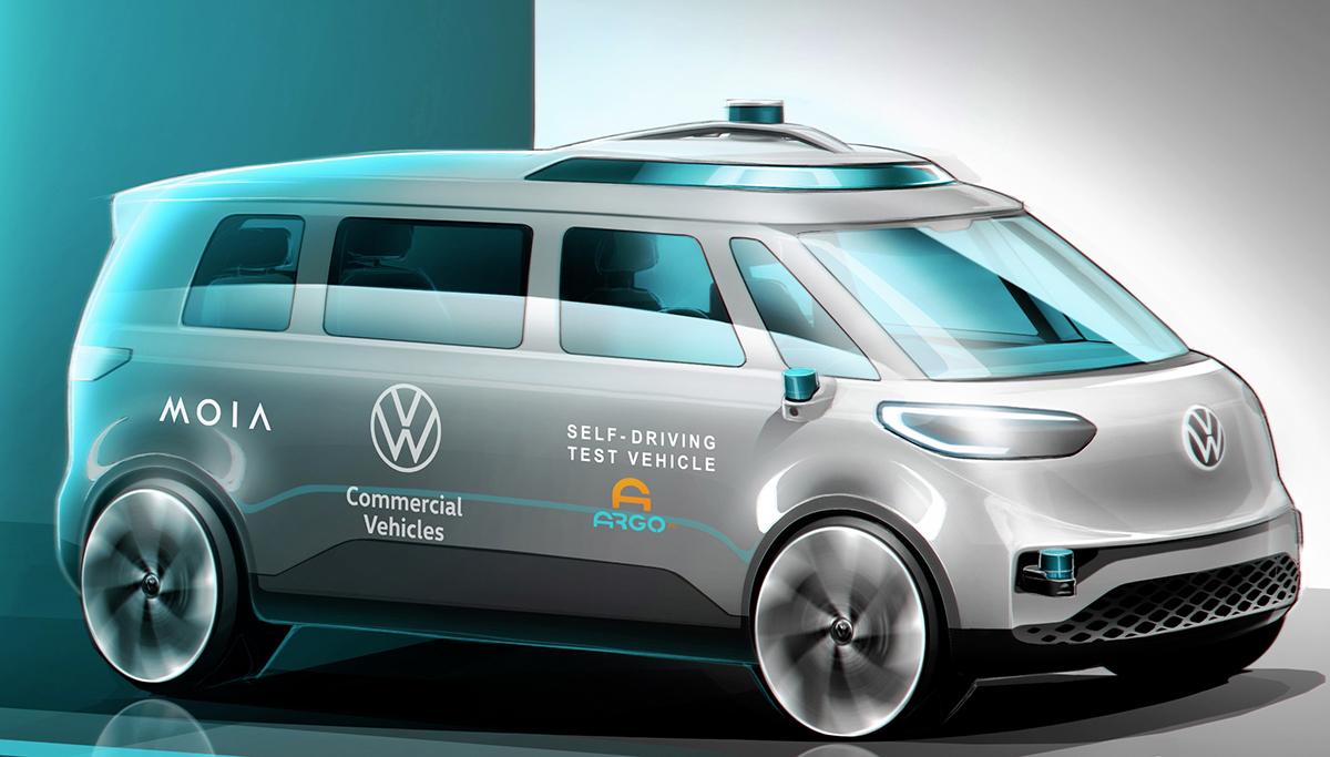 Tests met autonoom rijdende Volkswagen ID. Buzz gaan beginnen