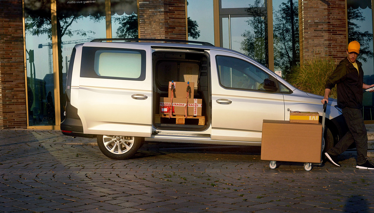Caddy Cargo: maximale flexibiliteit dankzij nieuwe achteras
