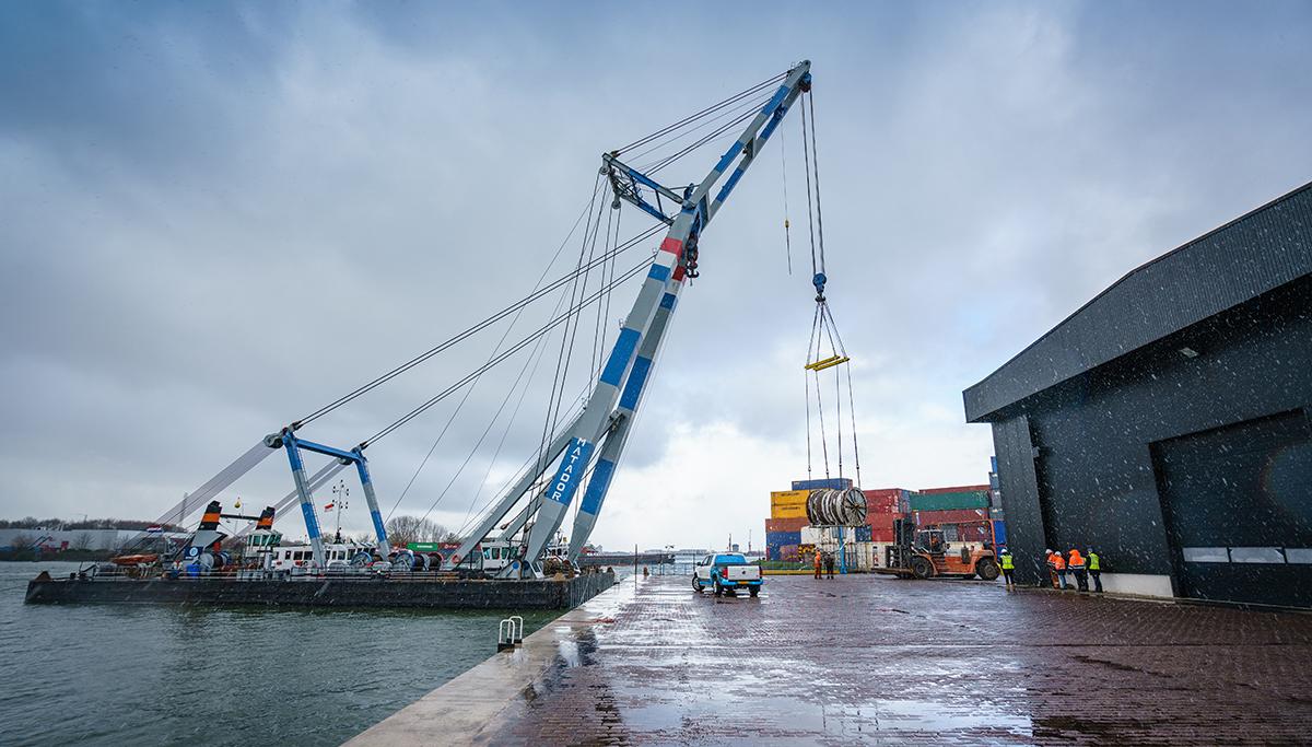 Hendrik Veder Group helpt Saipem bij offshore project in Baltische zee