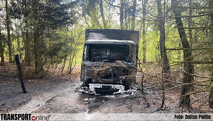 Brandende vrachtwagen blijkt gestolen [+foto]