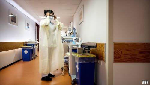 'Steeds meer ziekenhuizen sluiten corona-afdelingen'