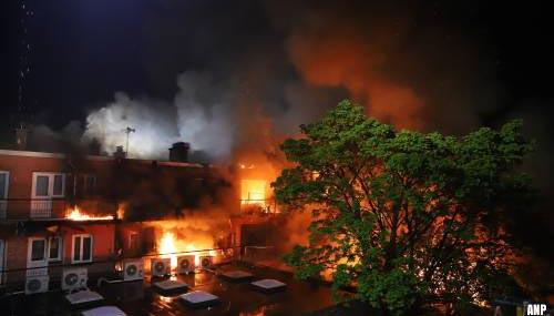 Veertig huizen Haagse Schilderswijk tijdelijk onbewoonbaar na brand