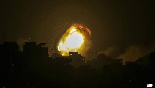 Doden en gewonden bij luchtaanvallen op Gazastrook
